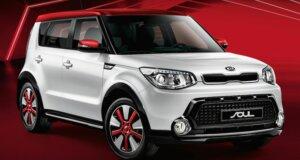 Kia rot-weiß: Neues Kia Soul Sondermodell