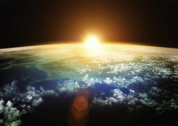 Blauer Erdenschimmer: Zeichen für Leben auf Planeten?