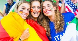 Fanstyling zur Europameisterschaft: Von Kopf bis Fuß auf Fußball eingestellt