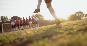 Fußball: Nicht nur beim Zuschauen ein klasse Sport