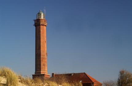 Reise nach Ostfriesland. hier ein Leuchtturm.