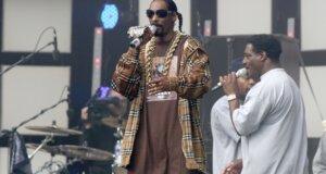 Snoop Dogg bei einem Konzert