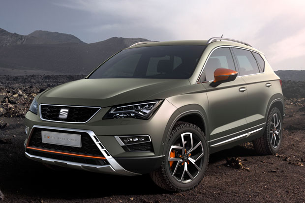 der neue seat ateca x perience. Black Bedroom Furniture Sets. Home Design Ideas