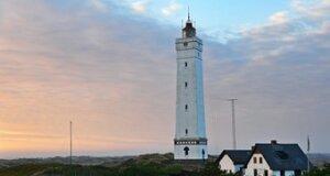 Leuchtfeuer Blavand in Dänemark