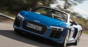 Audi R8 Spyder Test: der Intensivbräuner