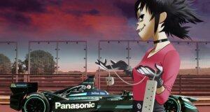 Noodle repräsentiert Panasonic Jaguar Racing