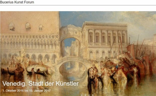 Vom warmen Süden in den frischen Norden: Kunst aus Venedig in Hamburg
