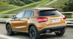 Neuer Mercedes-Benz GLA in Detroit