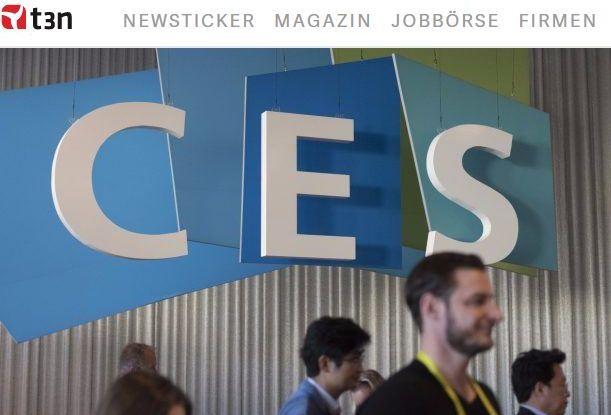 High-Tech-Messe startet am 5. Januar: CES 2017 in Las Vegas