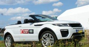 Range Rover Evoque Cabrio Test in Hamburg