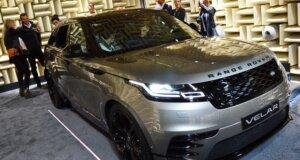 Range Rover Velar-Debüt in München: Stille Pracht