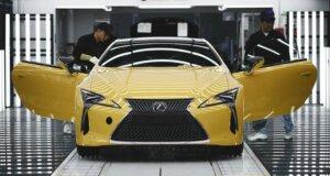 Produktion des neuen Lexus LC gestartet
