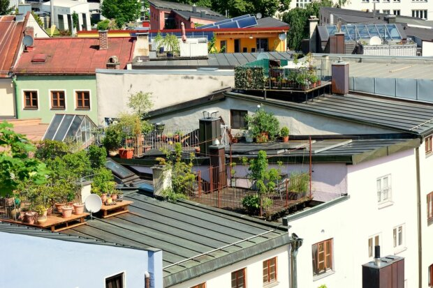 Dachterrassen – Chill-out-Zonen im XXL-Format