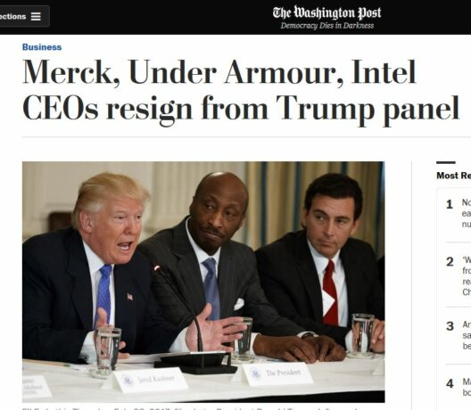 US-Bosse kehren Trump den Rücken