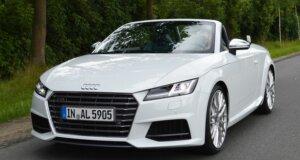 Audi TTS Roadster Test: Offen für Schnelles