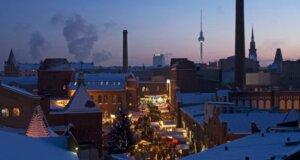 So schön wird der Lucia Weihnachtsmarkt am Prenzlauer Berg