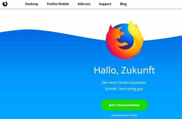 Firefox Quantum: Mozilla bietet Google die Stirn