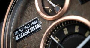 Weihnachtsgeschenk-Tipp: Ford Mustang-Armbanduhr