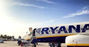 Streikendes Personal bei Ryanair